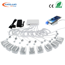 Wholesale <strong>10</strong> ports cell phone accessory security display stand with alarm and charging function
