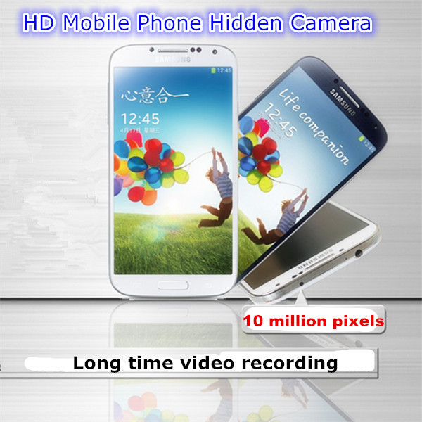 High Mega Pixel Mobile Phone Hidden Camera, simple operation hidden recorder