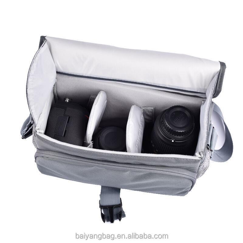 Customized size waterproof soft travel camera shoulder bag sling camera bag