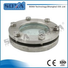 Anti-corrosion Pipe Line Stainless Steel Tank Flange Sight Glass