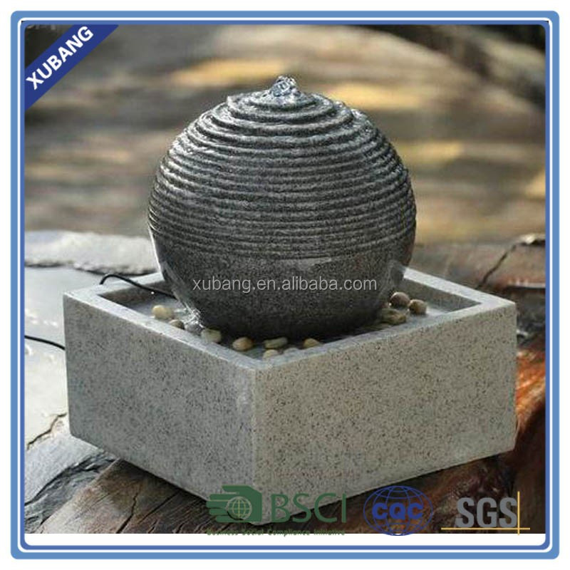 Good quality wholesale resin garden water fountain