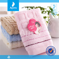 2015 Lowest price for baby towel by factory