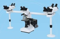 Stereo Multi-Viewing Educational Teaching Microscope