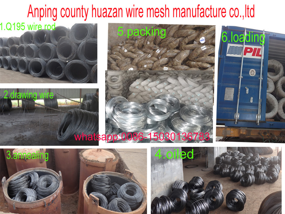 galvanized ms wire soft(annealed) in bundle form