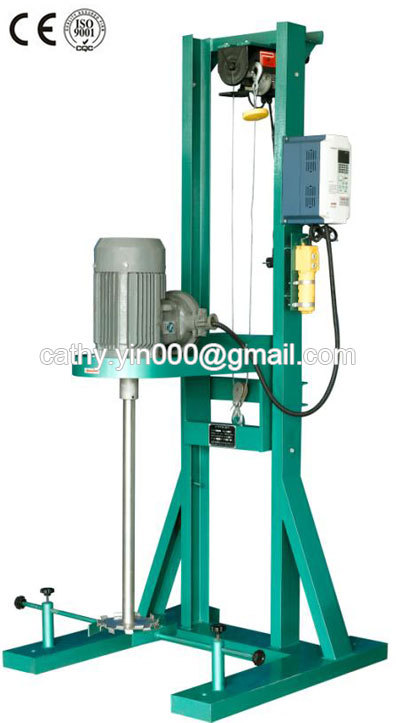 BF2.2w high speed electric disperser with various speed 0-1500rpm