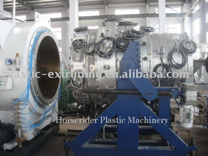 CE PE pipe production machine