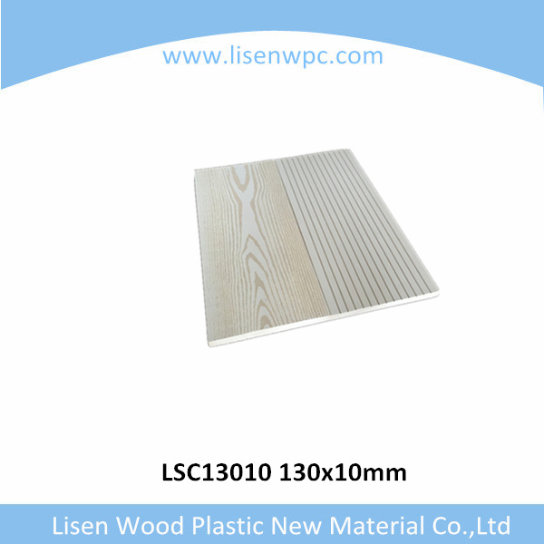 outdoor fire resistant wpc wall panel for exterior decoration white