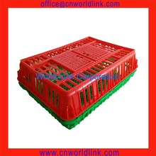Live Poultry Plastic Chicken Transport Crate for sale