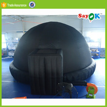 portable planetarium inflatable big dome warehouse tent price