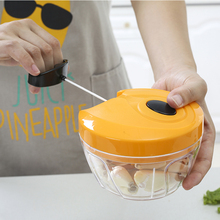 High Quality Food Professor Handy Vegetable Chopper With Pull String