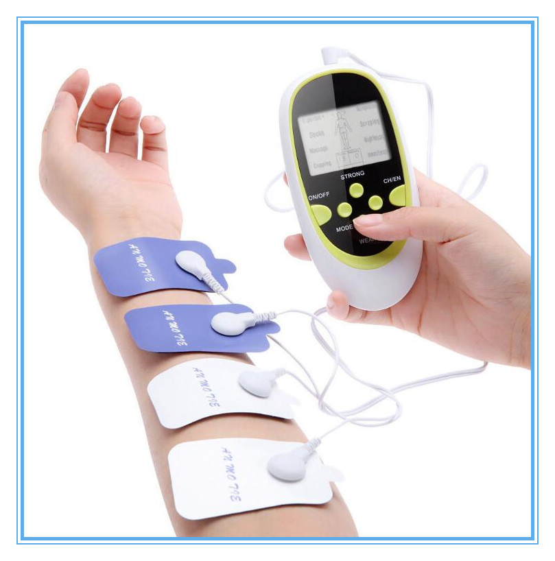 Multi-functional dual output slimming tens massager digital electrotherapy new