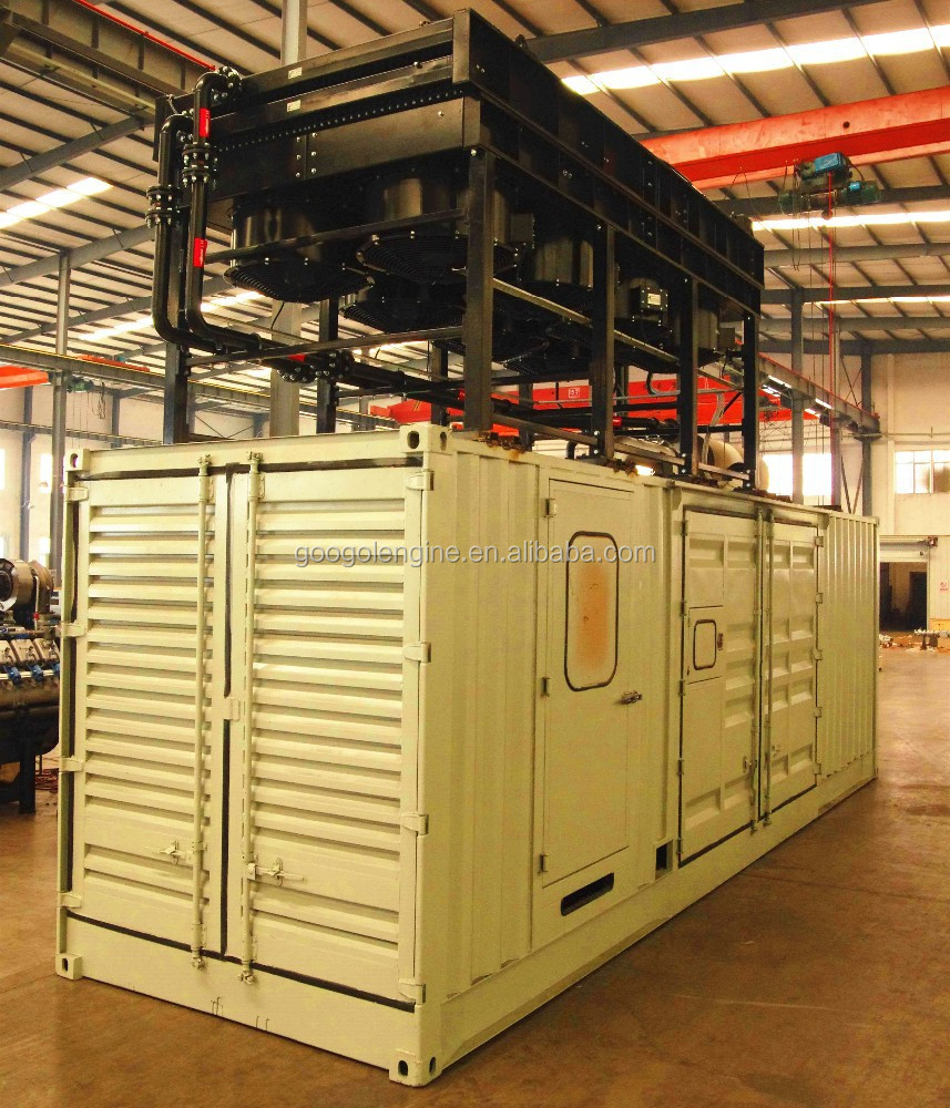 50Hz Container type Googol 2000kW Natural Gas Generator