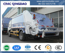 CIMC brand garbage compactor truck compaction semi trailer