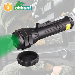 High Power Compact Green Laser Beam Designator Hunting Flashlight for Night Hunting