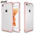 2016 hot sale case crystal clear Tpu+acrylic mobile phone case For iphone 7