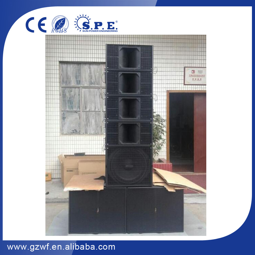 SPE AUDIO 10 inch line array LA-Q10 line array dual 10 inch <strong>q1</strong> famouns branded line array