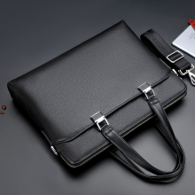 Wholesale And Customize 2018 New Style Fashion Business PU Leather Briefcase For Men