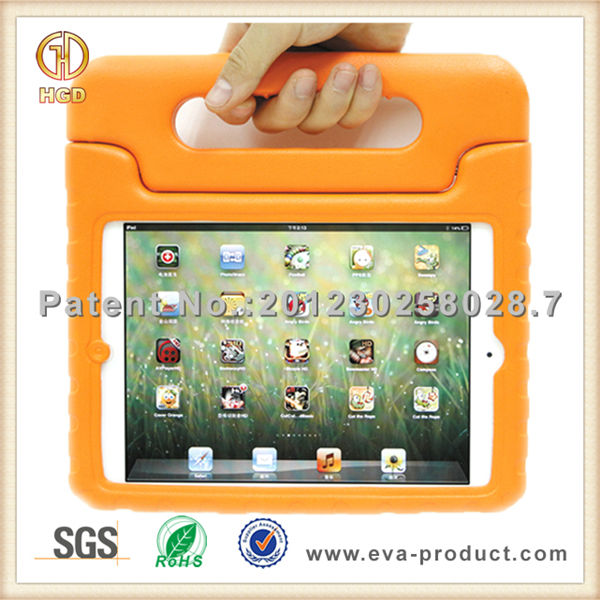cute childproof EVA handheld case for ipad mini