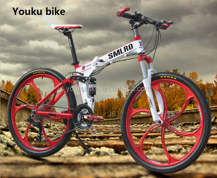 26 inch Alloy foldable mountain bike/ folding bicycle for sale