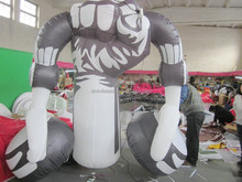 customized giant inflatable advertising balloon, inflatable model of earphone