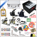 Wholesale Professional tattoo machine kit with tattoo ink and power supply