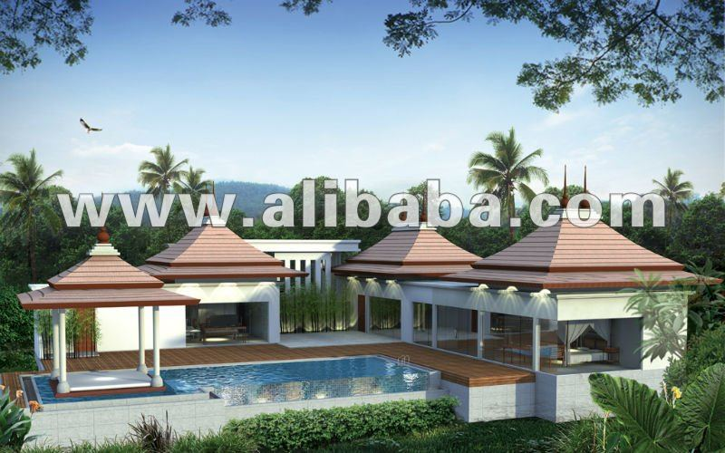 Pool villa for sale include land
