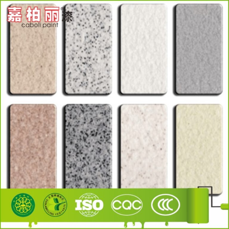 Caboli acrylic resin copolymer for stone like coating