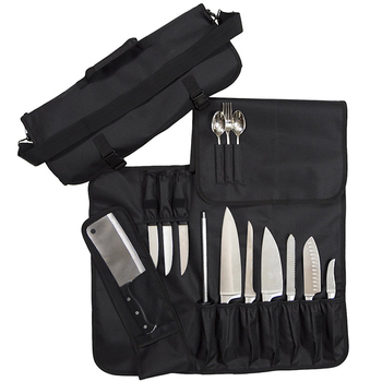 Professional factory customize high quality custom knife roll bag chef