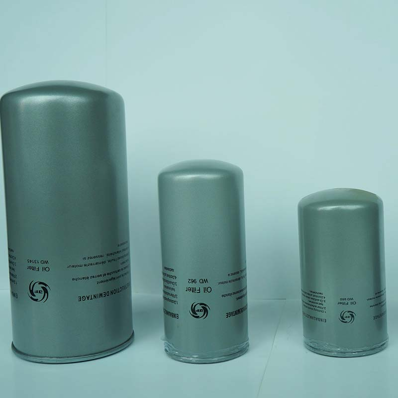 Oil Filters for air compressor spare parts after treatment