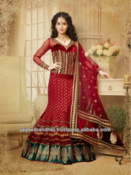 Pakistani Designer Heavy Bridal Lehenga Choli Dress Pakistani Lehengas