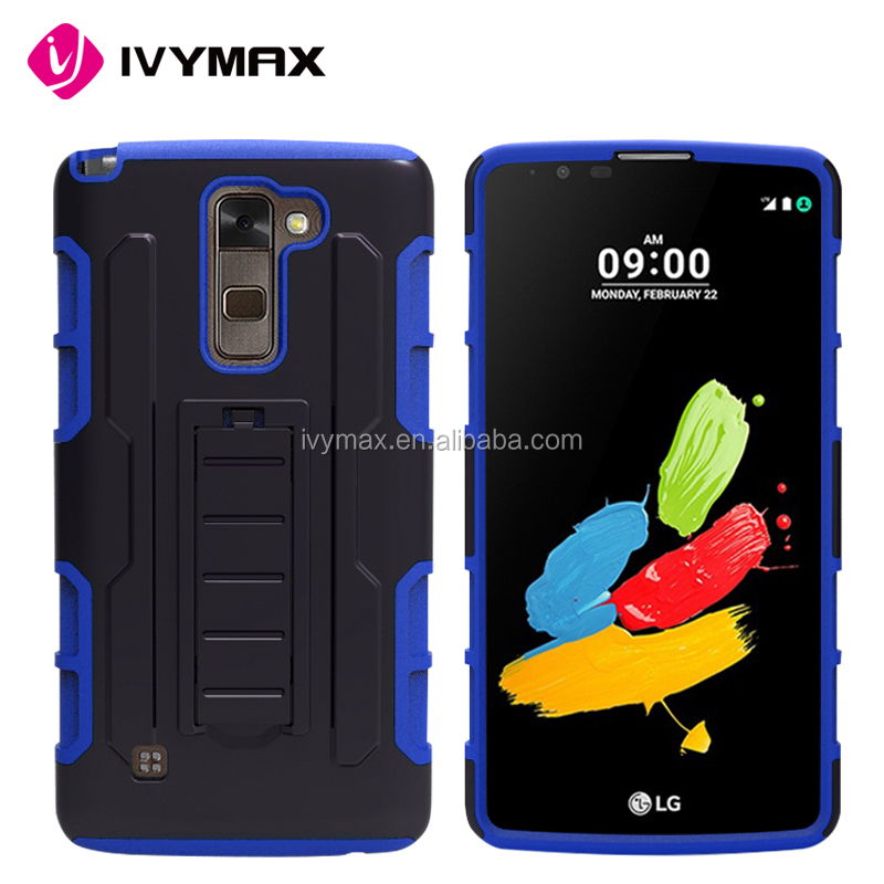 Factory price hot sell cellphone accessories hard future armor rugged holster phone protective case for LG Stylo2PLUS