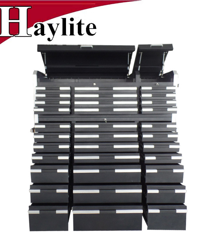 OEM Large metal tool chests mobile cabinet with aluminium handles
