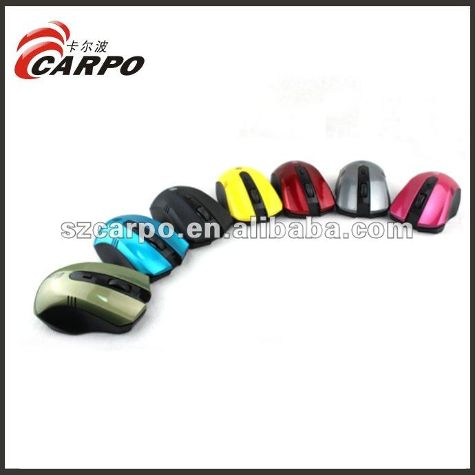 2012 hotsale handheld wireless trackball mouse F16