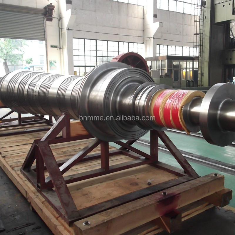 Main forged Shaft for Power Generator