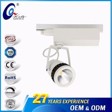 Jewelry Store 6000K Indoor Ceiling Rail Track Led Focus Light