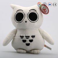 White owl plush toy