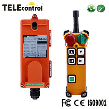 F21-4D 1 Transmitter+1 Receiver 4 Keys double speed Hoist Crane Radio Industrial Wireless Remote Control