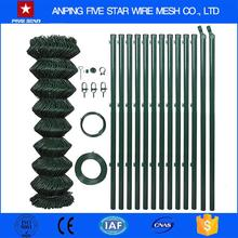 Five Star Factory supply vinyl clad chain link fence