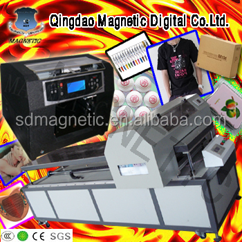 CE approved digital MDK- A3 8 color DTG printer for sale