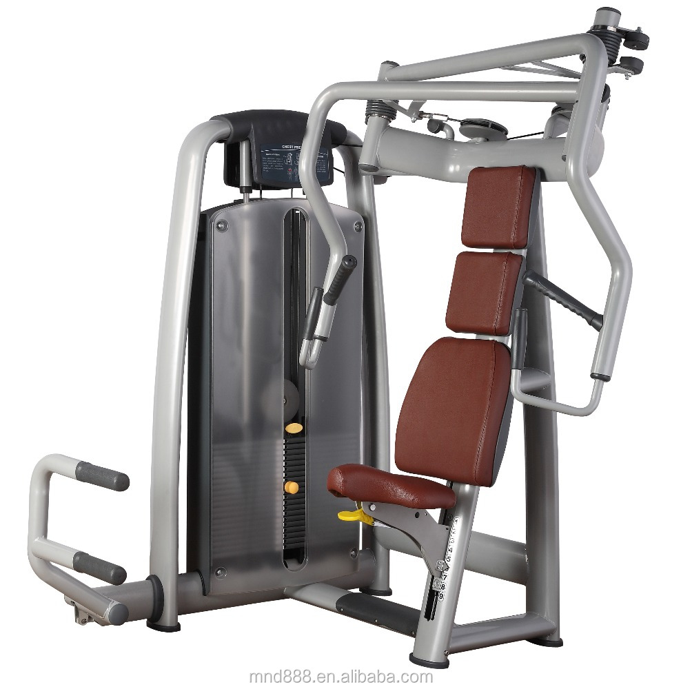 Design Intelligent Commercial Rear Deltoid Fitness Equipment For Gym Milnota Seated Chest Press MND AN20 Chess Press