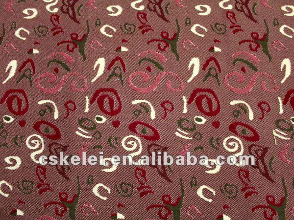Weft Knitting Bus Upholstery Fabric