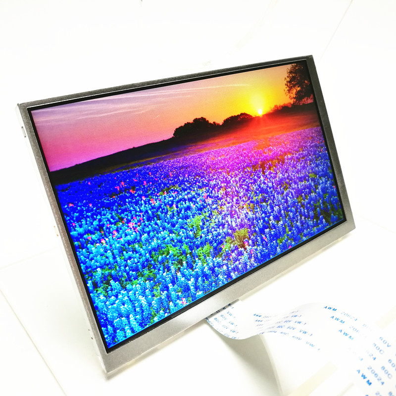 full color display Transmissive TFT lcd Module with 40 pins 7 inch LCD screen