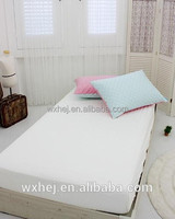 Hotel Motel Hospital white fitted single bed sheet wholesale