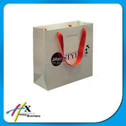 Custom paper bags with your own logo online shopping paper gift bags