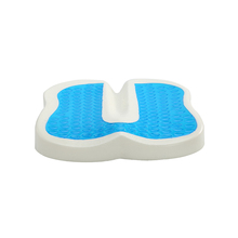 Wholesale Wooden Sofa Gel Cooled Cushion Orthopedic Memory Foam Seat Cushion For Hot Summer