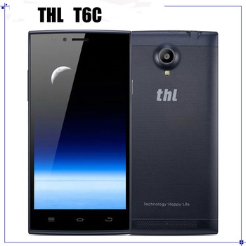 "THL T6C 3G WCDMA Cell Phone MTK6580 Quad Core 1.3GHz 5.0"" Android 5.1 854x480 1GB RAM 8GB ROM 5.0MP Camera"