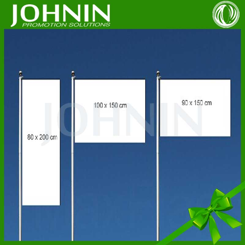 Polyester OEM size and logo hot selling all kinds of advertising flag