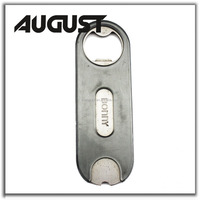 bottle openers custom images stainless steel bar blade with PVC coated