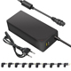 65W CE ROHS US/UK/AU/EU Plug laptop travel universal AC DC adapter with QC3.0 charger port