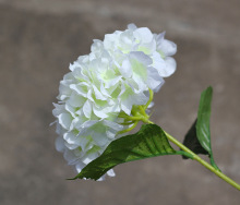 Wholesale artificial white hydrangea bulk large silk flowers